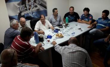 Autoridades del TRA Bandera y TRA María Teresa en Fe.Tr.A