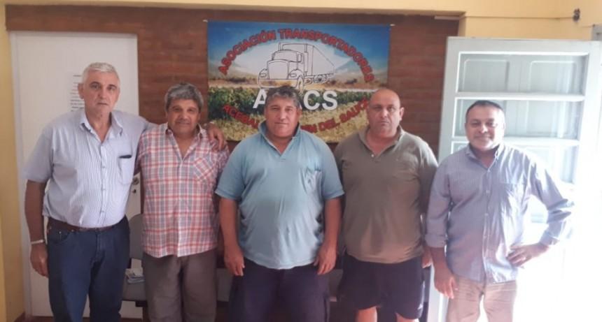 Claudio Enri y Edgardo Maurenzi visitan el TRA de Acebal y Carmen del Sauce.