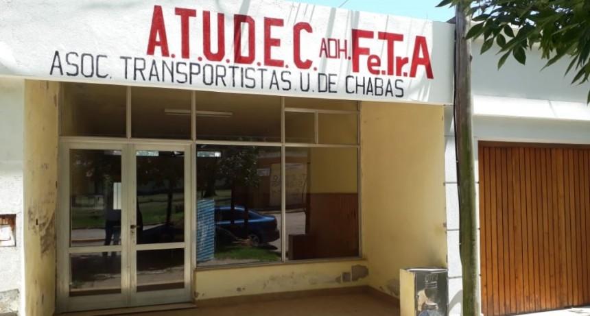 Asociación de Transportistas de Chabas bienvenidos a la Lucha de Fe.Tr.A