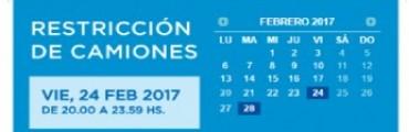 INFORMACIÓN IMPORTANTE PARA LOS TRANSPORTISTAS