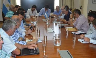 Se reunió la Mesa de Negociación Participativa.
