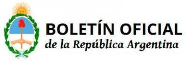 LA TARIFA NACIONA YA ESTA EN EL BOLETIN OFICIAL.