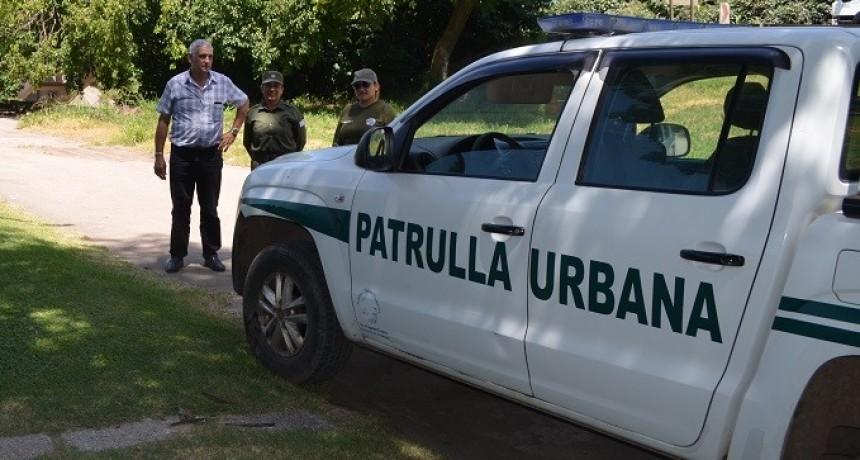 Fe.Tr.A junto a personal de la guardia Urbana Timbues.