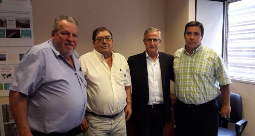 Secretario de Transporte de la Provincia de Santa Fe, recibe a Dirigentes de Fe.Tr.A