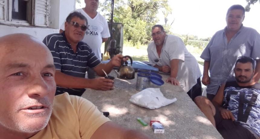 Transportistas Unidos del Partido de Arenales se reúnen con dirigente de Fe.Tr.A
