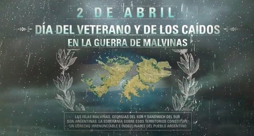 2 de Abril, día del Veterano y los caídos en la guerra de Malvinas.