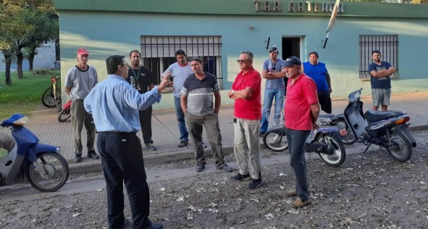 Vicepresidente de Fe.Tr.A visita el TRA de Arteaga.