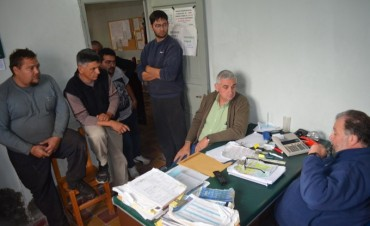 Asociación de Transportistas de Cruz Alta recibe a dirigentes de Fe.Tr.A