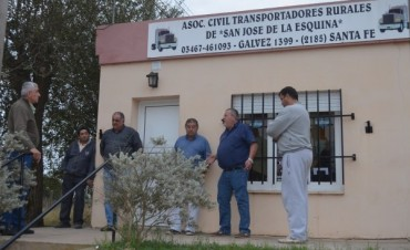Fe.Tr.A en Centro de Transportistas de San José de La Esquina.