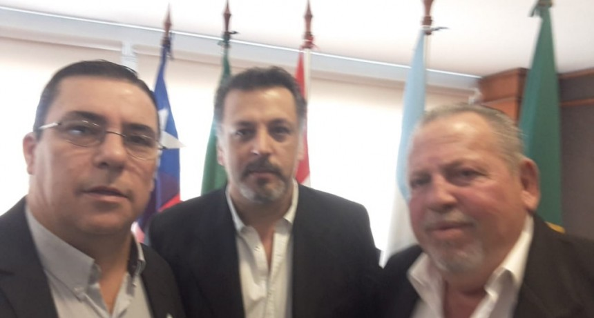 Dirigentes de Fe.Tr.A en la Reunión del SGT 5 Mercosur realizada en Paraguay.