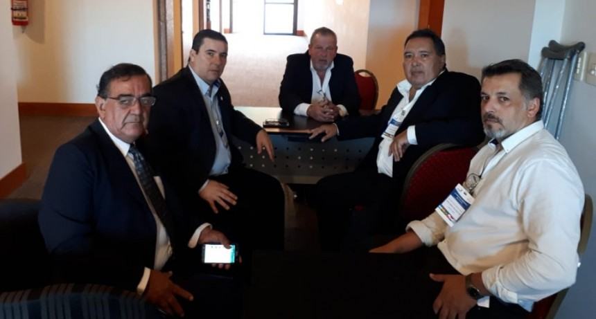 Reunión de Fe.Tr.A con Cámaras del Sector Transportistas de Paraguay.
