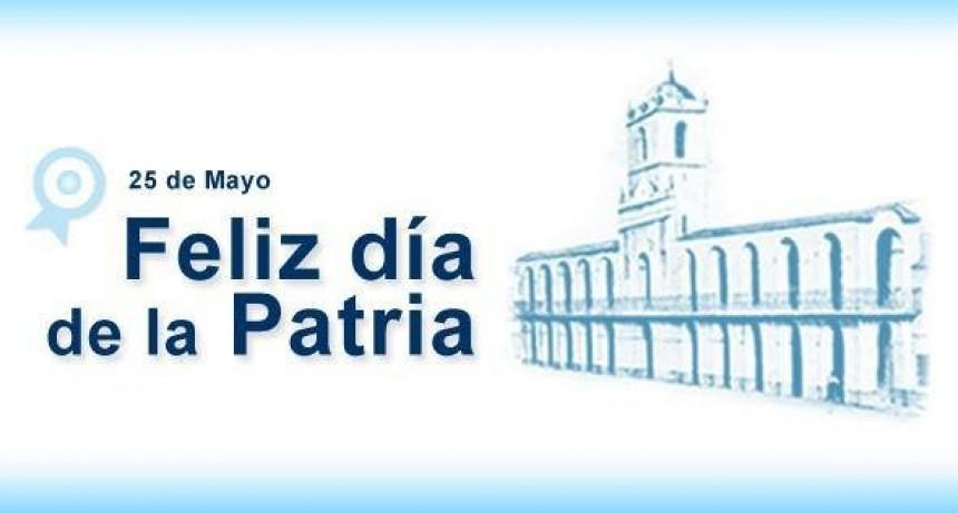 25 de Mayo Día de la Patria.