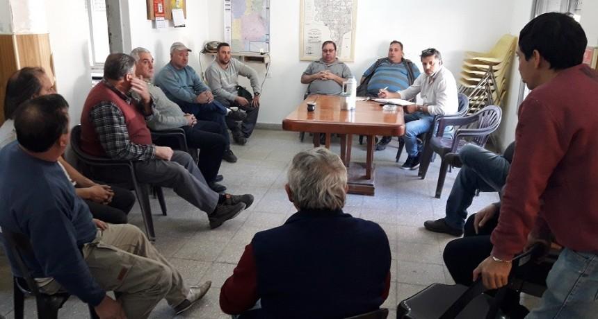 Fe.Tr.A visita al TRA Montes de OCA