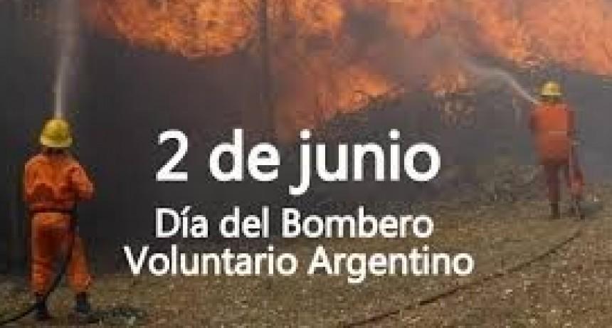 2 de Junio día del Bombero Voluntario