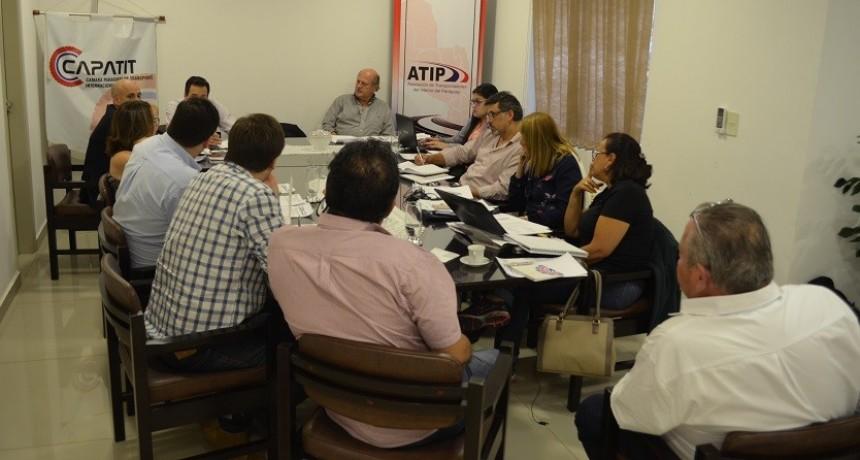 Fe.Tr.A participe en la reunión de la Condesur en Asunción.