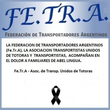 Fe.Tr,A y Transportistas Unidos de Tototras