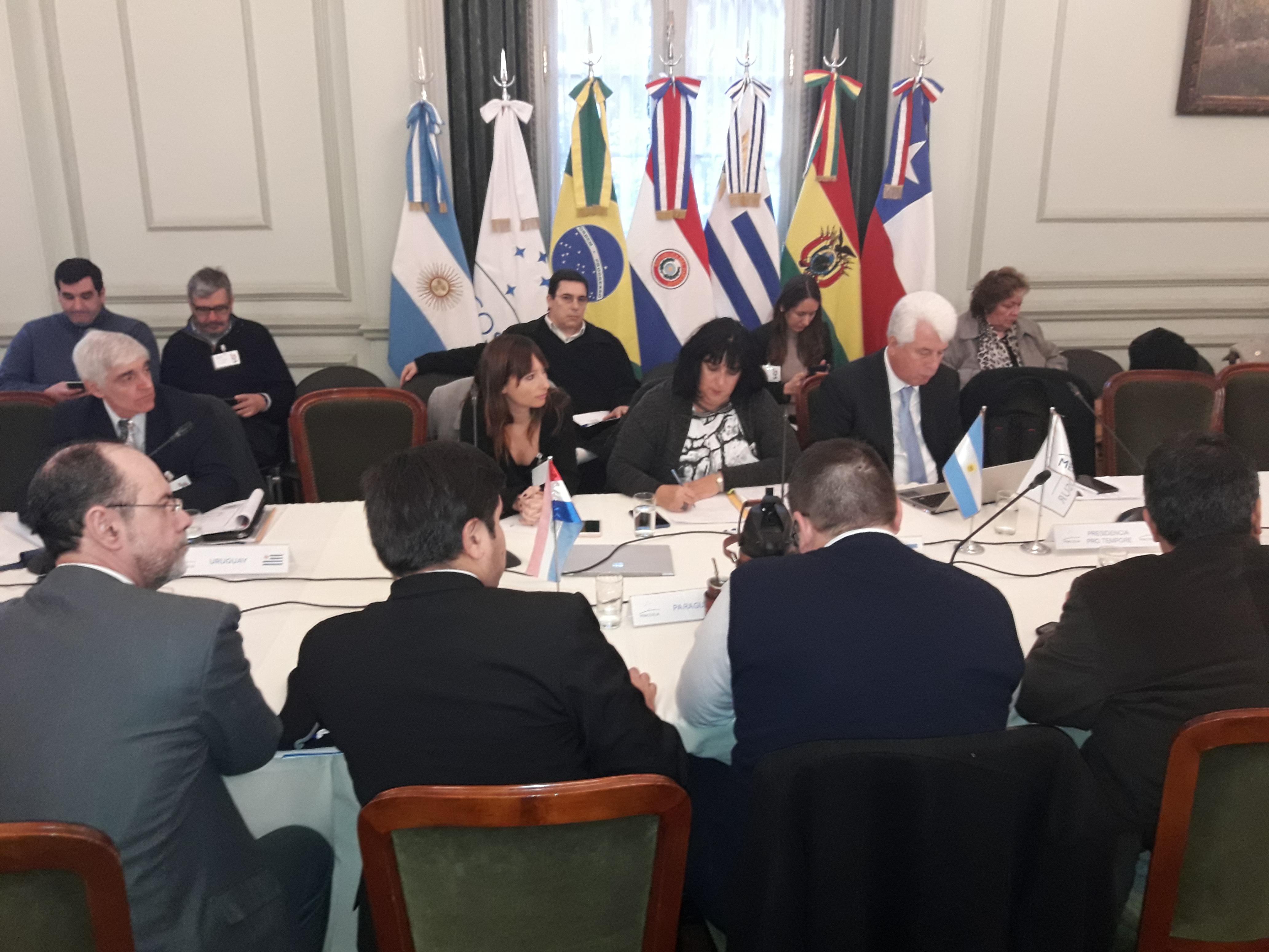 Dirigentes de Fe.Tr.A participan  del Sub Grupo 5 de Transporte Mercosur