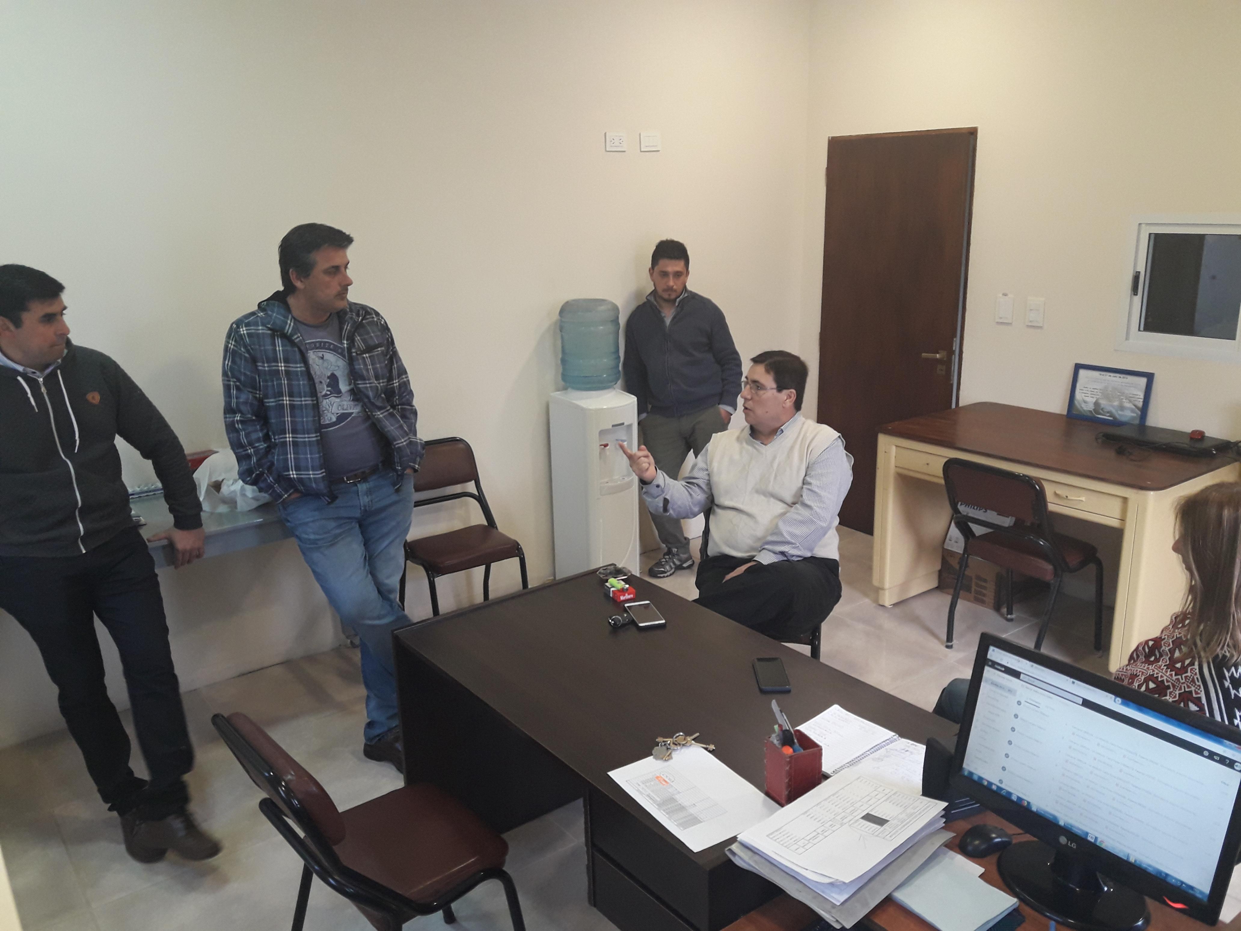 Fe.Tr.A en sede Centro de Transportistas de Intendente Alvear