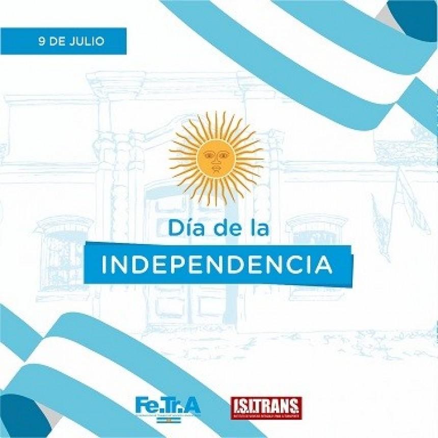 9 de Julio Día de la INDEPENDENCIA.
