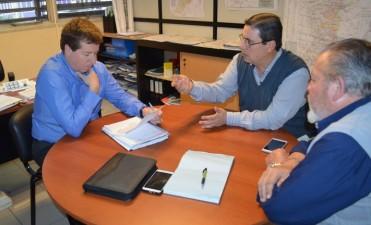 Dirigentes de Fe.Tr.A se reúnen con Secretario de Transporte de la Provincia de Santa Fe.