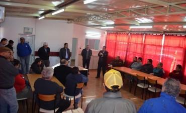 Con la Presencia del Presidente de I.S.I.Trans Pablo Agolanti se inauguro el Aula en TRA Venado Tuerto