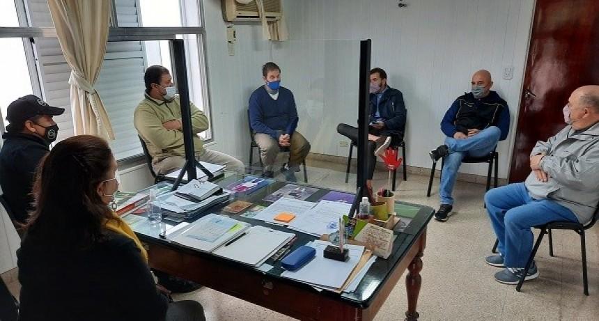Autoridades del TRA de Murphy junto a Fe.Tr.A se reúnen con autoridades de la Comuna Local.