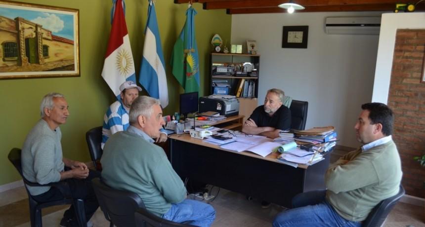 importante reunión con Intendente de Bouchardo.