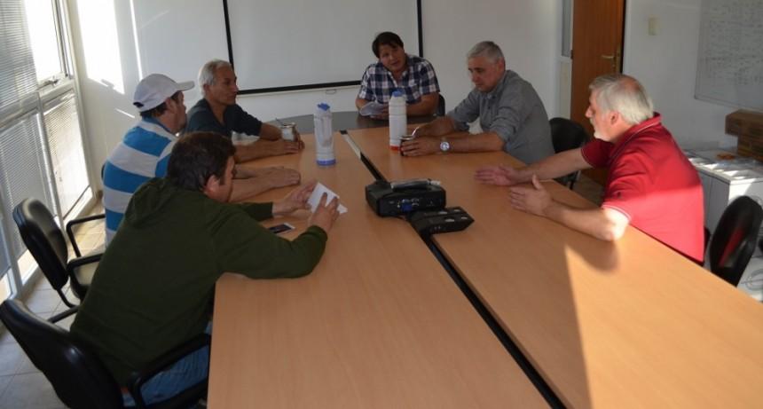 Entidades de Bouchardo e Italo junto a Fe.Tr.A en AGD.