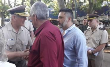 Recambio en Gendarmería Rosario.