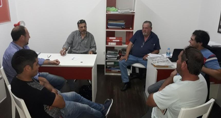 Transportistas de la entidad adherida de Humboldt en Sede Nacional de Fe.Tr.A