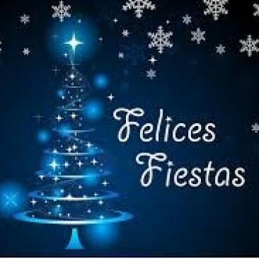 Feliz Navidad y un prospero Año nuevo.