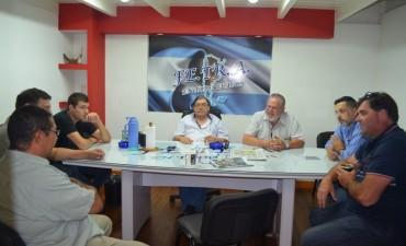 Autoridades del TRA Rafaela en Fe.Tr.A