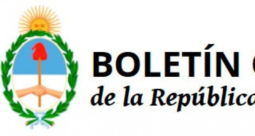 La Tarifa Nacional ya esta en el Boletín Oficial