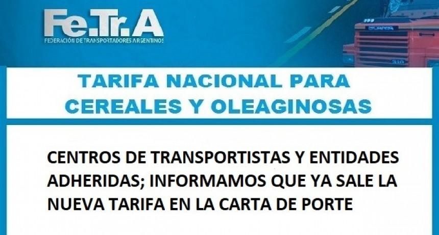 Información Importante para los transportistas.